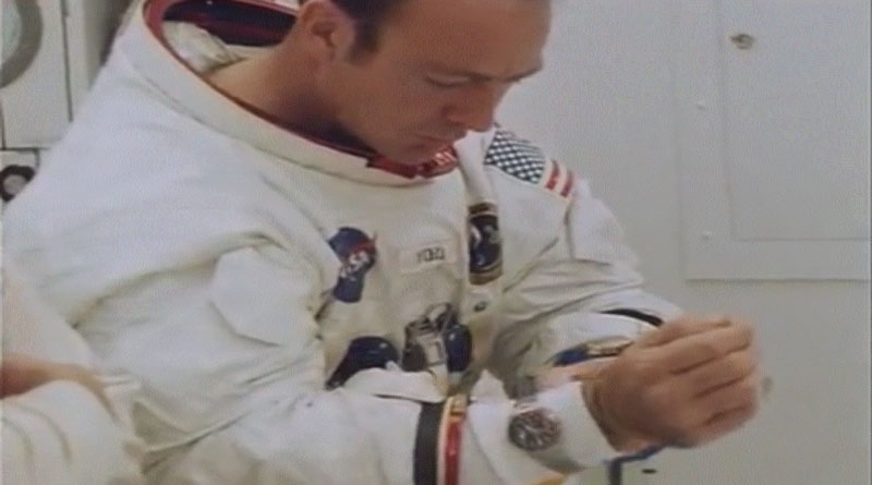 Apollo 14's Astronaut Wore A Rolex GMT Master Reference 1675