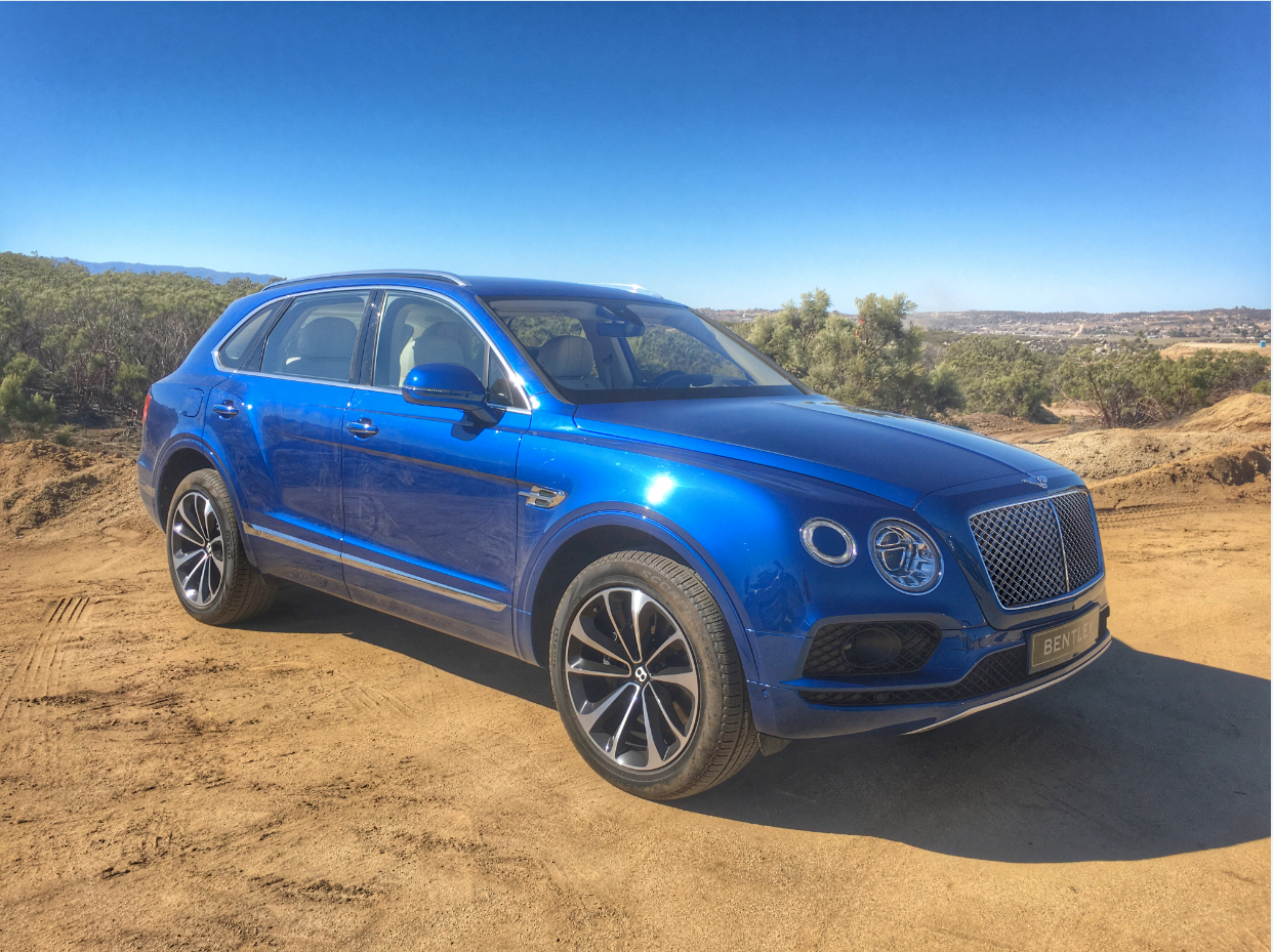 Bentley Bentayga Screen Clip