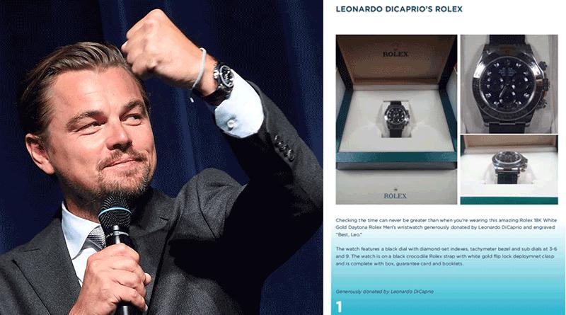 Want Dicaprio's Rolex? 2016 LDFoundation Gala Raises $45M