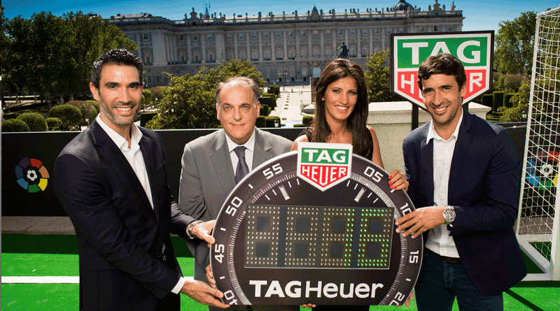 Tag Heuer – Official Timekeeper of La Liga Spain