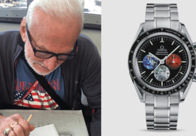 Buzz Aldrin Starts Design on the Omega Mars Watch #GYATM