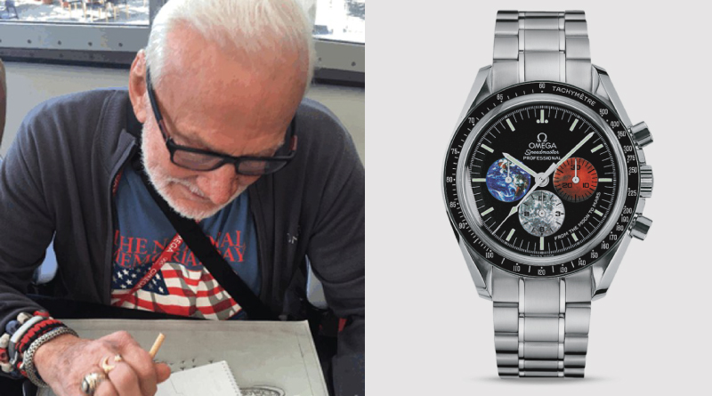Buzz Aldrin Starts Design On The Omega Mars Watch Gyatm