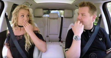James Corden Britney Spears AP Cover