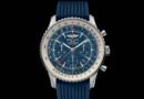 New Release: 2016 Breitling Navitimer GMT Aurora Blue