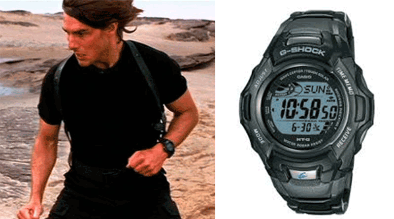 Mission Impossible 3 Casio G-Schock MTG-910D