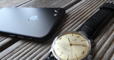 Cover Omega Seamaster iPhone 7