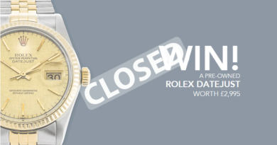Win A Rolex Competition Closed