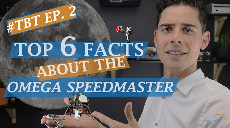 TBT Ep2. Omega Speedmaster Professional Apollo 11 Facts