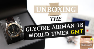 Unboxing – Glycine Airman 18 World Timer GMT – Grey Market Purchase