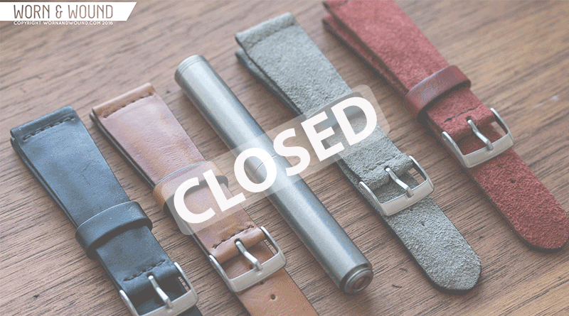 Worn&Wound – Strap & Pen Give Away!