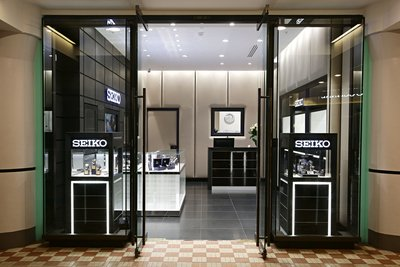 March 2nd 2016 Seiko's first boutique in Australia located in the QVB Sydney. Photographer: Adam Yip