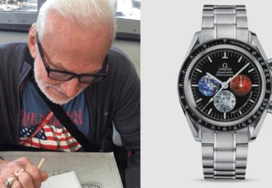 Buzz Aldrin Starts Design on the Omega Mars Watch #GYATM