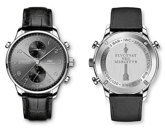 IWC Portugieser Chronograph Rattrapante Edition Boutique Rue de la Paix Ref. IW371216