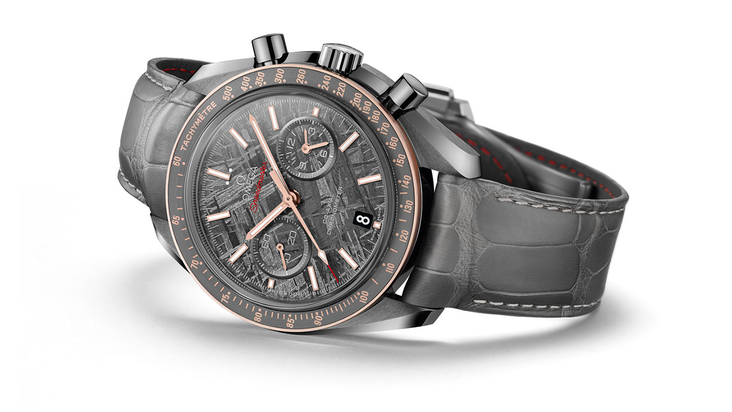 Omega Speedmaster Meteorite Grey Side of the Moon