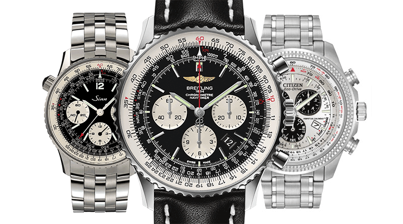 Homage Watches Breitling Navitimer