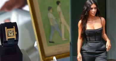 Kim Kardashian Cartier Kennedy Watch